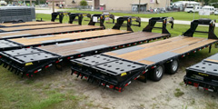 Open Trailers For Sale in Florida
