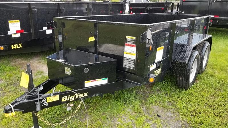 Single Axle Tandem : Big tex sr wdd tandem axle single ram dump