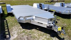 2018 Aluma 8214HS Heavy Duty Single Axle Utility Trailer, #169290