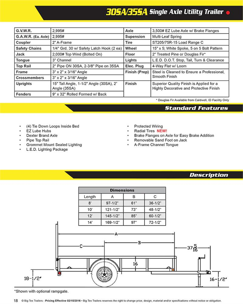 Wiring Diagram For Big Tex Trailer from www.ag98trailersales.com