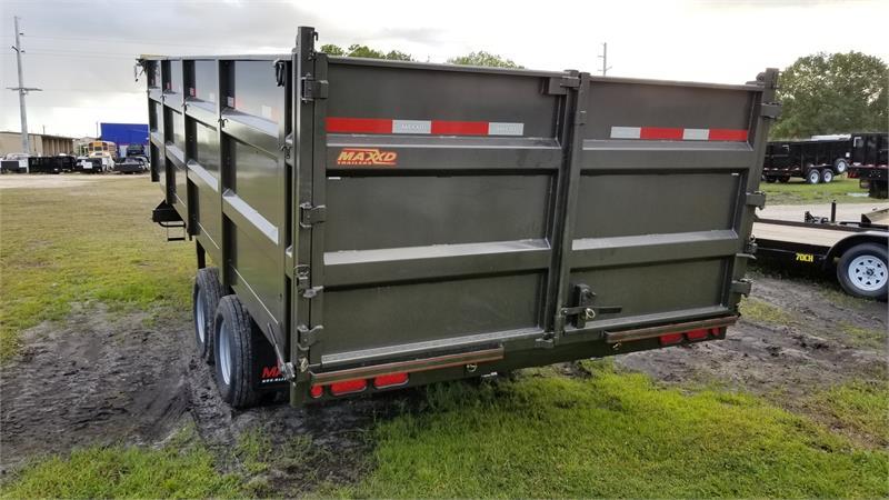 Utility Truck Beds For Sale >> 2018 MAXXD DDX9620G HD 96 Tandem Dual Dump Trailer #052796