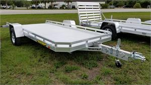 Aluma 7814S Tilt Single Axle Utility Trailer, 2018, #169143
