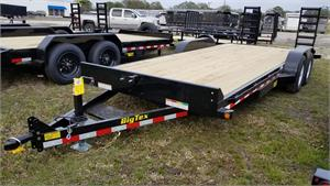 2018 Big Tex 10ET-20BK-KR Tandem Axle Equipment Trailer #018005
