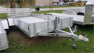 Aluma 8114SR Single Axle Utility Trailer, w/Sp., 2019, #187865