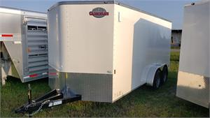 Continental Cargo Enclosed Trailer, 7x16 TA2, RD, 2020, #126242