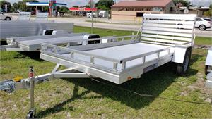Aluma 7814ES, 2020, Edge Series Single Axle Trailer w/Sides #196543