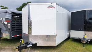 Continental Cargo Trailer 8.5x24 TA3, RD, 2020, Enclosed #NSU125118