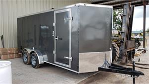 Continental Cargo Trailer 7x16 TA2, RD, 2020, Enclosed #125288