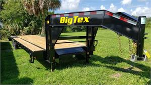 Big Tex 14GN-25BK+5, 2020, Single Wheel Tandem Axle Gooseneck #034389