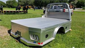 "CM Truck Bed, ALSK Model, Aluminum, Cab/Chassis 9'4"" Length, 60"" C/A"