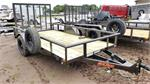 "MAXXD S3X7212, 2019, Single Axle Utility Trailer w/Sp 12x72"" #066036"