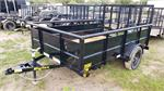 Big Tex 35SV-10BK, 2020, 3K Single Axle Vanguard Utility Trailer