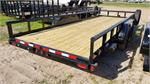 Big Tex 10PI-20BK, 2020, 10K Pro Series Tandem Axle Pipe Top Utility Trailer