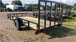 35SA-14BK4RG, 2020, 3K Single Axle PipeTop Utility Trailer w/Sp #062417